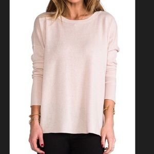 NWT - VINCE Cashmere Relaxed Crew Neck Sweater